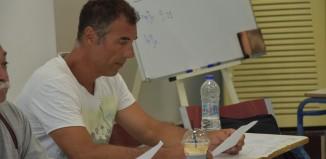 Ο Γιώργος Σκόρδος στη Πάρο για τη Γενική Συνέλευση της Ε.Σ.Κ. Κυκλάδων