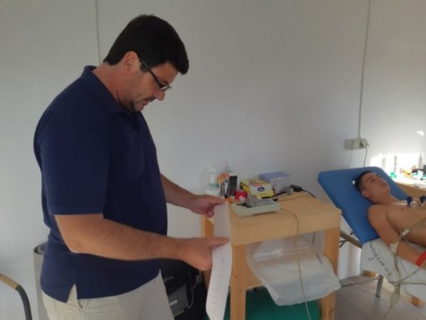 Καρδιολογικές εξετάσεις για τα τμήματα ποδοσφαίρου του ΑΟ Μυκόνου