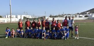 Ένας ξεχωριστός αγώνας: Μικροί - Μεγάλοι εν δράσει στο γήπεδο του Κόρφου