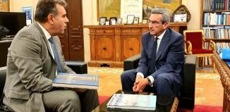 Συνεργασία του Περιφερειάρχη με τον Υφυπουργό Τουρισμού Μάνο Κόνσολα