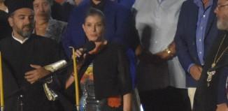 Άννα-Μισέλ Ασημακοπούλου: «Είναι μεγάλη τιμή για την Ελλάδα... η Μύκονος»