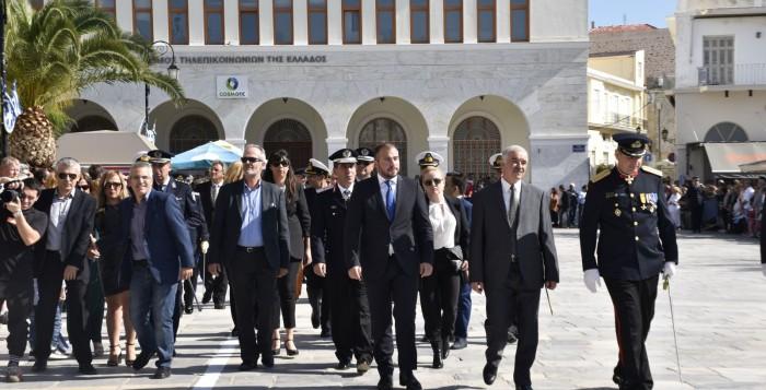 Εγκαίνια του Πολιτικού Γραφείου του Φίλιππου Φόρτωμα στη Σύρο