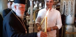 Ο Πρωθυπουργός Κ. Μητσοτάκης στον Πανίερο Ναό Ευαγγελιστρίας Τήνου