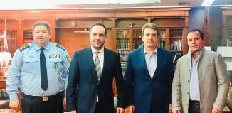 Συνάντηση του Δήμαρχου Μυκόνου με τον Υπουργό Προστασίας του Πολίτη