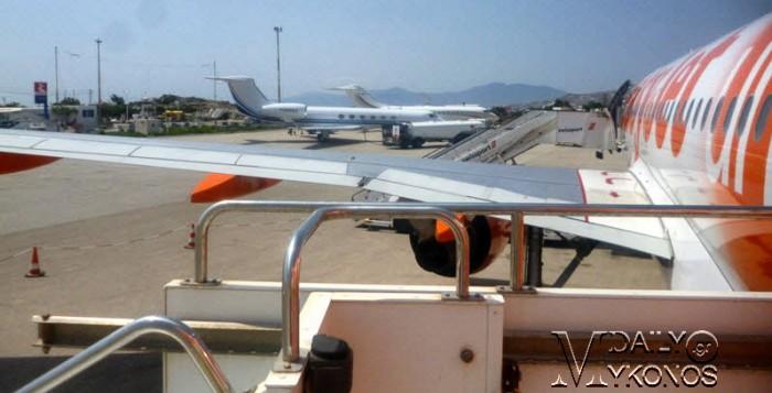 Νέο ρεκόρ πτήσεων αναμένεται να καταγράψει φέτος ο Διεθνής Αερολιμένας Μυκόνου
