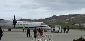 Κορονοϊός: Προληπτικά μέτρα στο αεροδρόμιο Μυκόνου