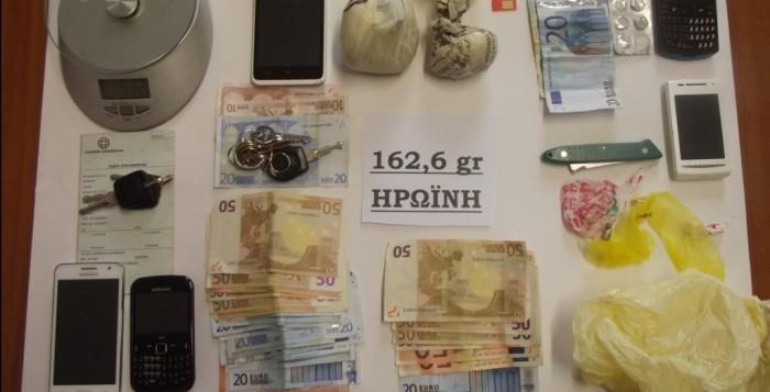 Σύλληψη 4 ατόμων για ναρκωτικά στη Ρόδο