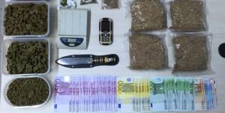 Σύλληψη 46χρονου για κατοχή ναρκωτικών ουσιών και λαθρεμπόριο καπνού