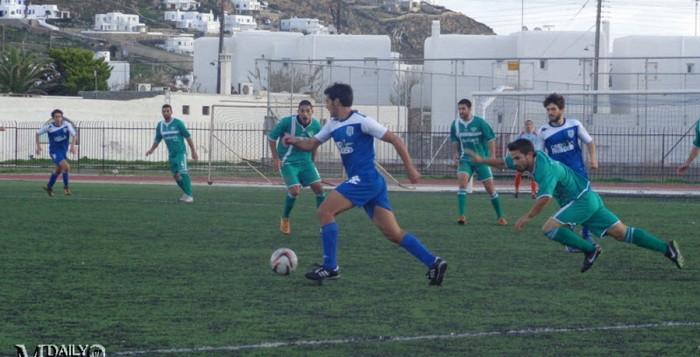 Ποδόσφαιρο: Με το δεξί ο ΑΟ Μυκόνου - Τα αποτελέσματα της 1ης αγωνιστικής