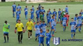 Στο μικρό τελικό του 4ου Τουρνουά Ατρόμητος Soccer Schools ο ΑΟ Μυκόνου