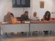 Φώτο: στο Γρυπάρειο πραγματοποιήθηκε η έκτακτη γενική συνέλευση της ΕΠΣ Κυκλάδων