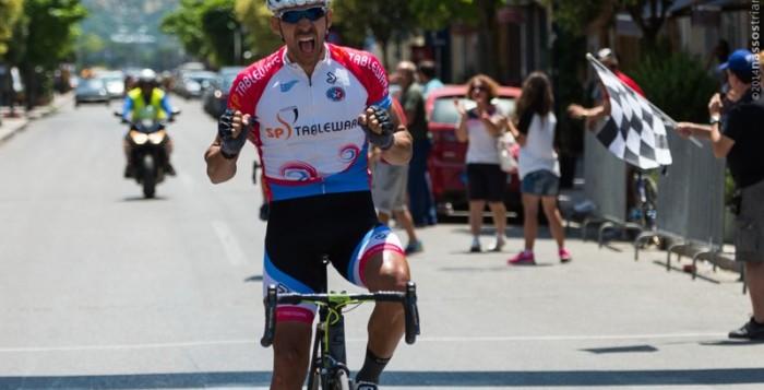 Ποδηλασία: 9ος στο Πανελλήνιο Πρωτάθλημα ο Γιώργος Δάντος