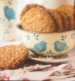 Νηστίσιμα μπισκότα με νιφάδες βρόμης, μέλι και κανέλα