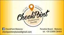CHECK POINT Restaurant - Bar at Paradise Beach
