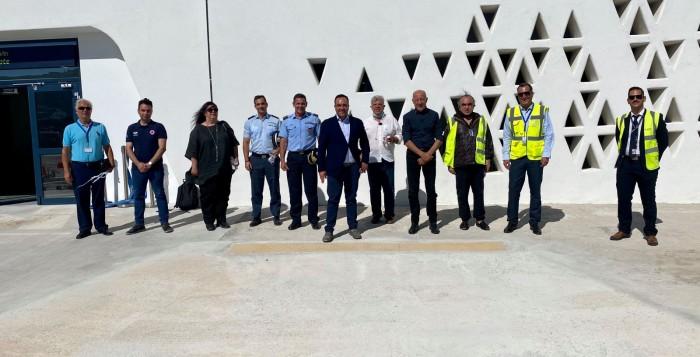 Έκτακτη σύσκεψη με την παρουσία του Γ.Γ. Πολιτικής Προστασίας στο Αεροδρόμιο