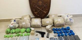 Συλλήψεις για ναρκωτικά και παράβαση του νόμου περί όπλων στη Μύκονο