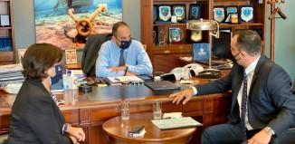 Συνεχίζει τις επαφές του στα Υπουργεία ο Δήμαρχος Μυκόνου