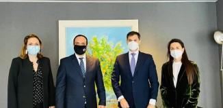 Συνάντηση του Δήμαρχου Μυκόνου με τον Υπουργό Τουρισμού