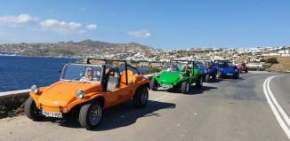 Jet Tour Greece: Ελληνικά οχήματα σε Σύρο, Μύκονο Νάξο, Αμοργό και Σαντορίνη