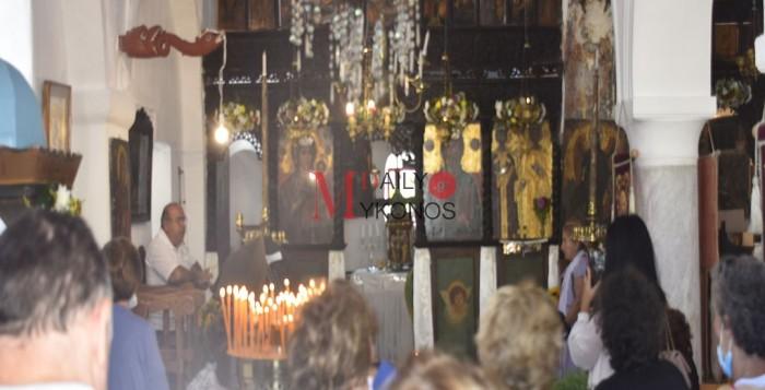 Εορτασμός του Τιμίου Σταυρού στην Αγία Ελένη του Κάστρου