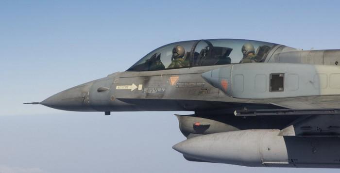 Υπέρπτηση τουρκικών μαχητικών στο Αιγαίο