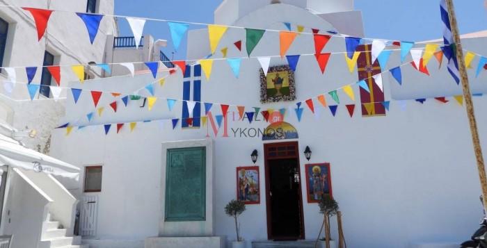 Στολισμένος ο Άγιος Νικόλας υποδέχθηκε την Παναγιά Τουρλιανή - Τελευταίες πινελιές πριν την πανηγυρική επιστροφή