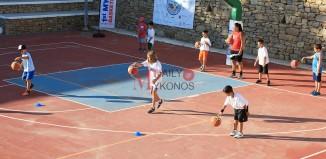 Πλάνα από την πρώτη μέρα στο «1ο Mykonos Basketball Camp»