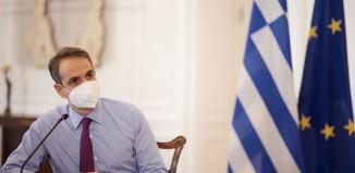 Μήνυμα κατά του εφησυχασμού από τον Κ. Μητσοτάκη: «Ελευθερία δε σημαίνει ανευθυνότητα»