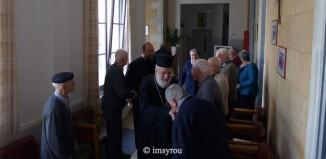 Στην αγορά της Σύρου περιόδευσε το πρωί ο Μητροπολίτης κ.κ. Δωρόθεος Β'