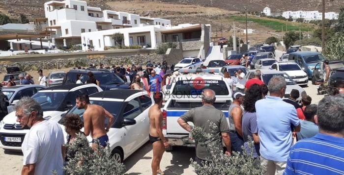 Μεγάλη η συμμετοχή των Μυκονιατών στην Διαμαρτυρία για το Καλό Λιβάδι