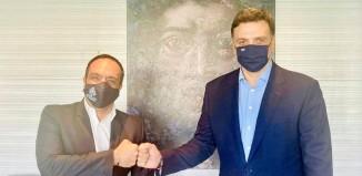 Συνάντηση του Δήμαρχου Μυκόνου με το νέο Υπουργό Τουρισμού, Βασίλη Κικίλια