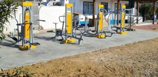 Εγκατάσταση 10 οργάνων άθλησης υπαίθριου χώρου στο γήπεδο της Άνω Μεράς