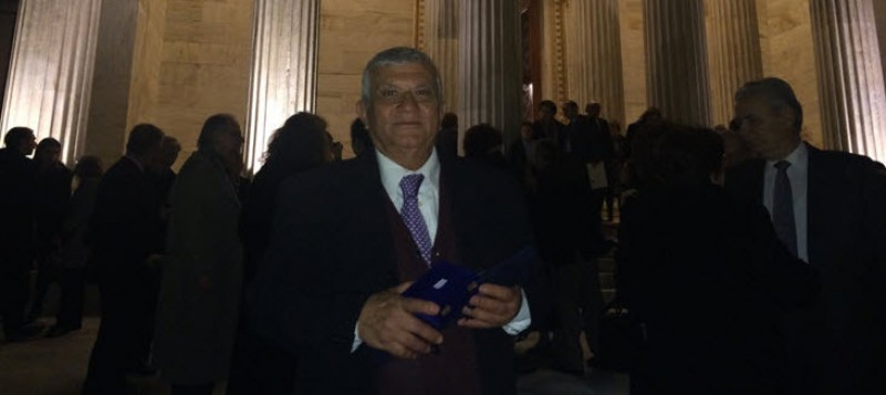 Συγχαρητήρια επιστολή του Δημάρχου Μυκόνου για τη βράβευση του Παναγιώτη Κουσαθανά