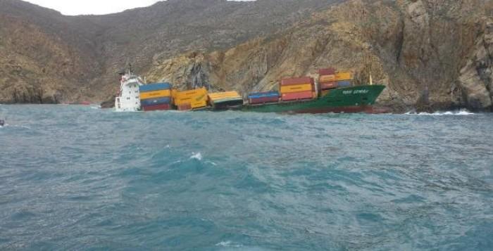 Κίνδυνος ρύπανσης από την προσάραξη φορτηγού πλοίου βόρεια της Μυκόνου - Μετέφερε καύσιμα και είδη λίπανσης