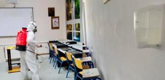Απολυμάνσεις στα σχολεία της Μυκόνου ενόψει της επαναλειτουργίας τους