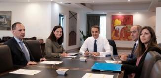 Κυρ. Μητσοτάκης:Δίνουμε έμφαση στην ποιοτική δημόσια Παιδεία