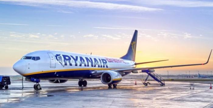 Ryanair: Επέκταση δρομολογίων περιορισμένων πτήσεων έως τις 9 Απριλίου