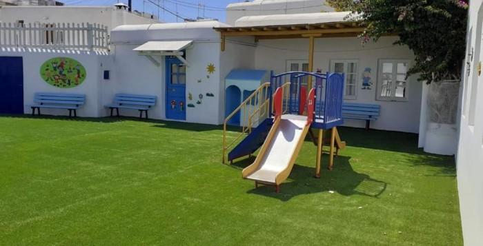 (pics) Ολοκληρώθηκαν οι εργασίες συντήρησης και επισκευής στα Νηπιαγωγεία και Δημοτικά σχολεία Μυκόνου