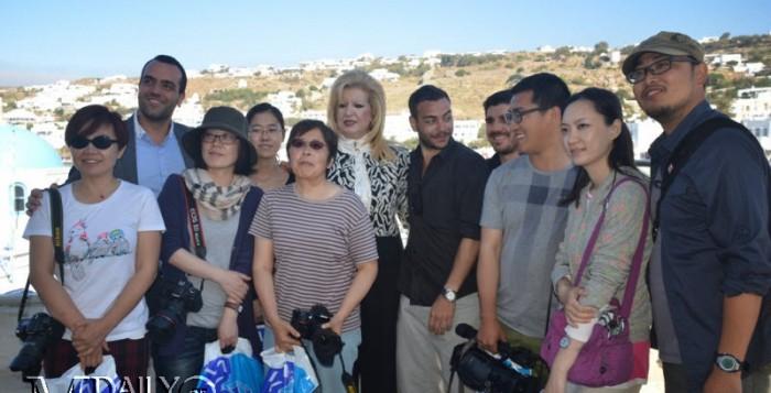 Τριήμερη επίσκεψη κινέζων δημοσιογράφων στην Μύκονο