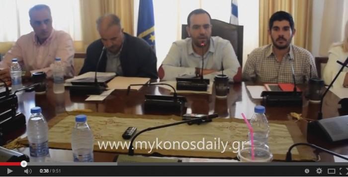 VIDEO Εισήγηση Δημάρχου για τον ΧΥΤΑ και τοποθετήσεις των αρχηγών των δημοτικών παρατάξεων