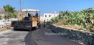 ΟΔΗΓΟΙ ΠΡΟΣΟΧΗ: Ασφαλτόστρωση στο Πυργί - Ποιες ώρες θα κλείσει ο δρόμος