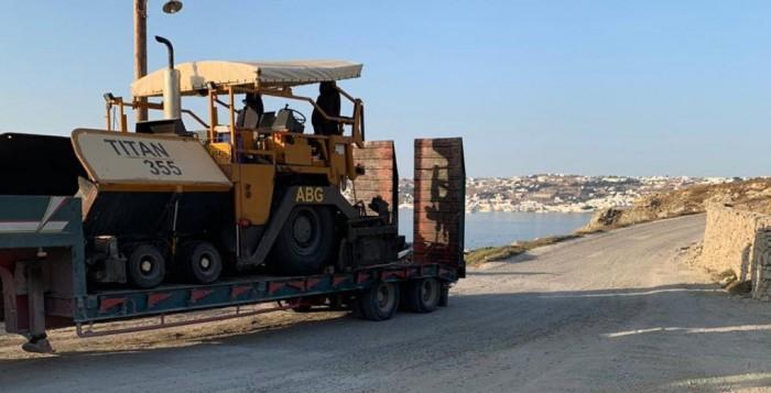 Προχωρά το έργο της οδοποιίας - Ιδιαίτερη προσοχή την Τρίτη 9/7 για όσους κινούνται στην περιοχή...