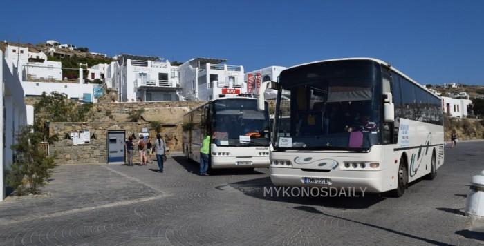 ΚΤΕΛ Μυκόνου: Δύο νέες γραμμές ενώνουν το παλιό λιμάνι με παραλίες