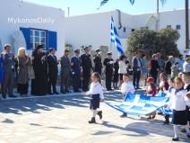 (vid) Οι εορταστικές εκδηλώσεις για την επέτειο του ΟΧΙ σε Χώρα και Άνω Μερά