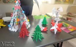 Μεγάλη η συμμετοχή στο Χριστουγεννιάτικο εργαστήρι για παιδιά