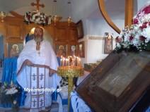 Μύκονος: Θεία Λειτουργία στο παρεκκλήσι του Αγίου Μάμα (φωτογραφίες)
