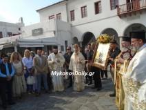 (φωτο) Ο Εορτασμός του Αγίου Μανουήλ στη Μύκονο