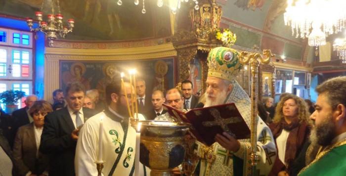 (Φωτογραφίες) Τον προστάτη των παραγωγών Άγιο Τρύφωνα τίμησε σήμερα η Μύκονος