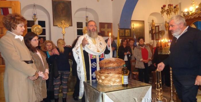 (fotos) Την Προστάτιδά του Αγία Σκέπη τίμησε ο Απολλώνιος Σύλλογος
