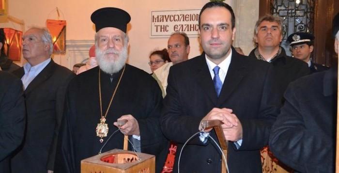 Στις εορταστικές εκδηλώσεις της Τήνου παραβρέθηκε ο Δήμαρχος Μυκόνου